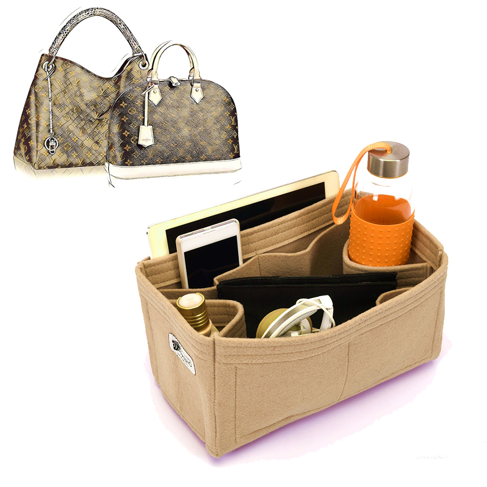 Bag and Purse Organizer with Regular Style for Louis Vuitton Alma, Artsy