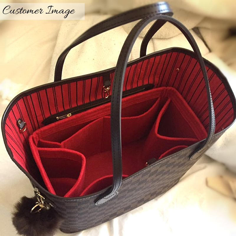 a935b2eea301 ... Bag and Purse Organizer with Regular Style for Louis Vuitton Neverfull  Models ...