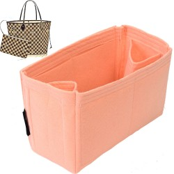 Regular Style 2 mm Soft Felt Bag and Purse Organizer for Louis Vuitton Neverfull Bags