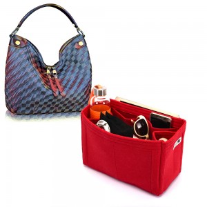 Bag and Purse Organizer with Regular Style for Louis Vuitton Duomo Hobo