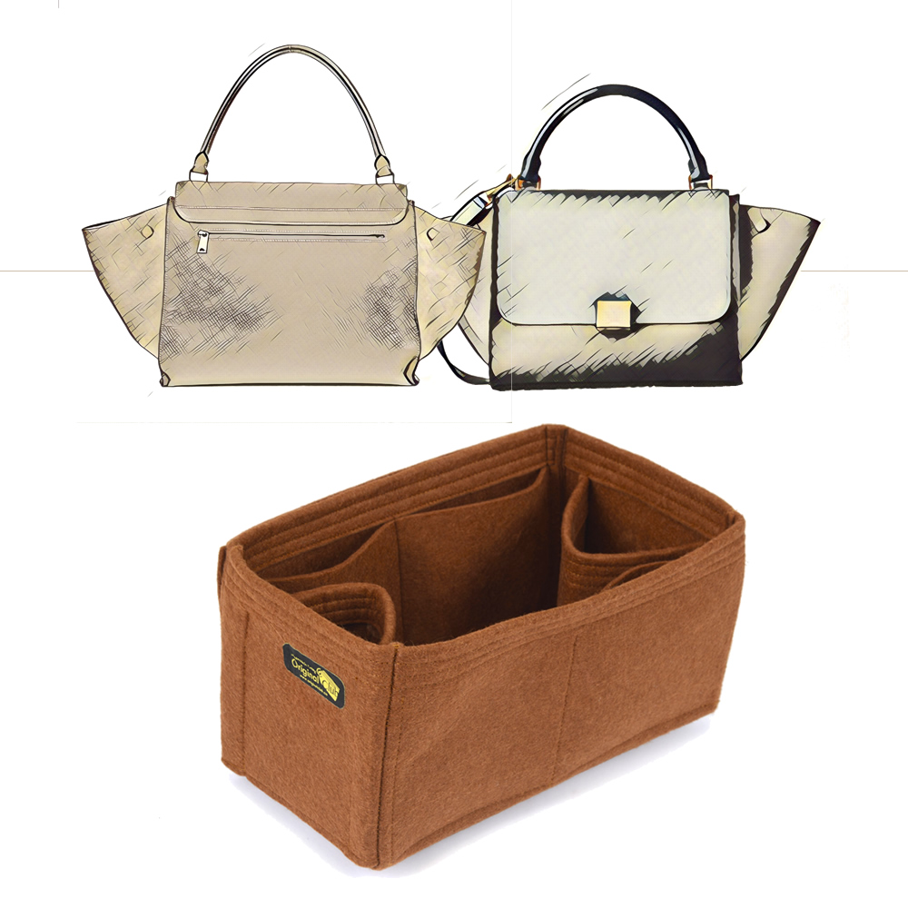 Bag and Purse Organizer with Regular Style for Celine Trapeze