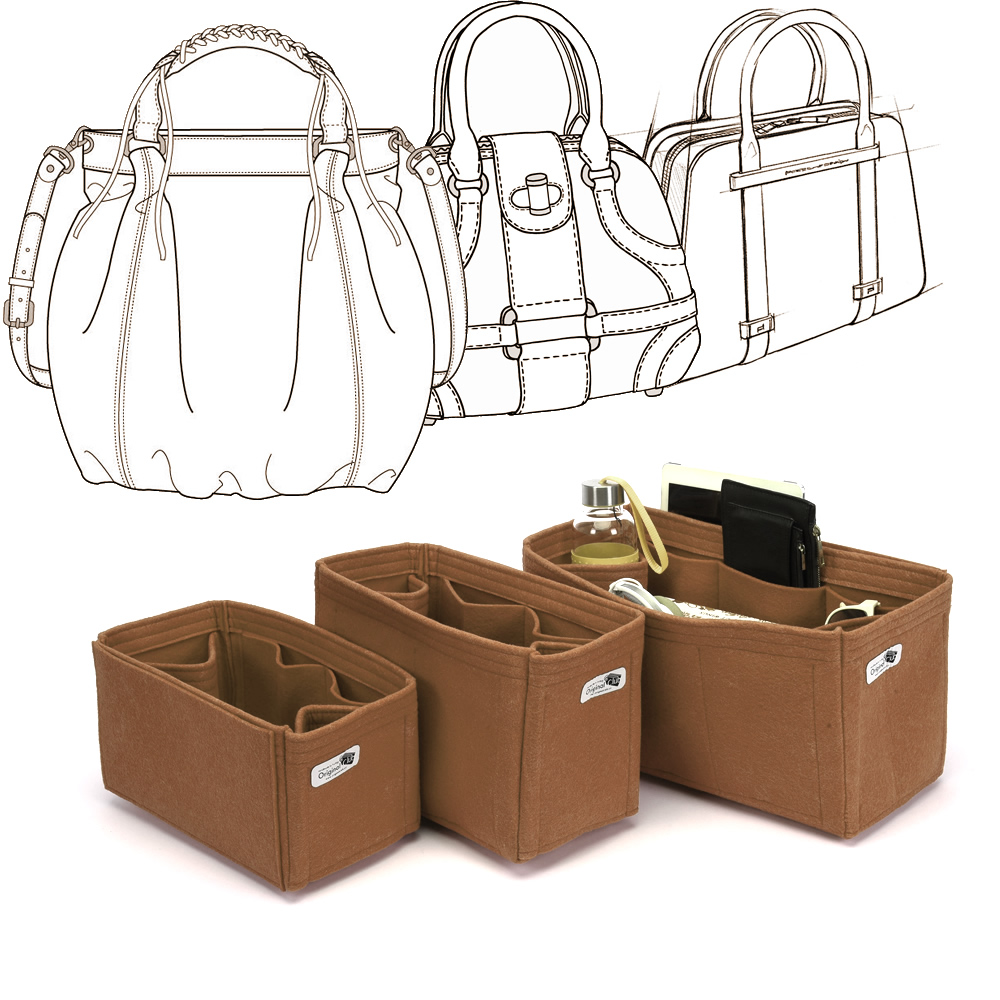 Custom Size Regular Style Bag and Purse Organizer