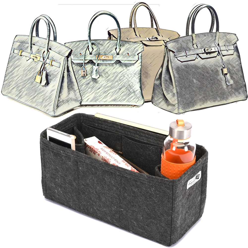 f5549611e6d6 Bag and Purse Organizer with Regular Style for Hermes Birkin Models