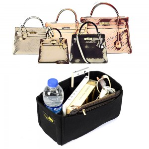 Bag and Purse Organizer with Regular Style for Hermes Kelly 35