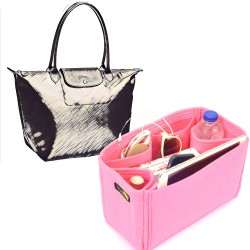 Bag and Purse Organizer with Regular Style for Longchamp Le pliage Neo Nylon Tote Bag