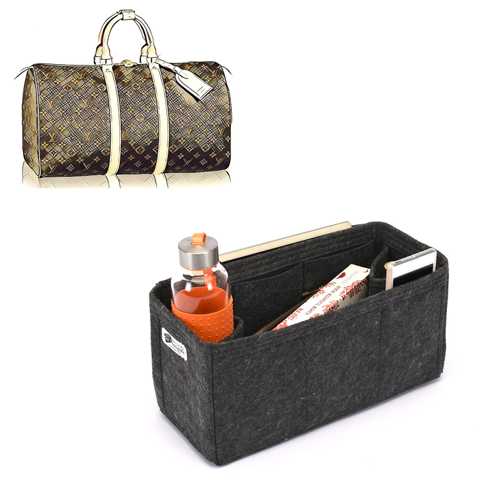 Bag and Purse Organizer with Regular Style for Louis Vuitton Keepall