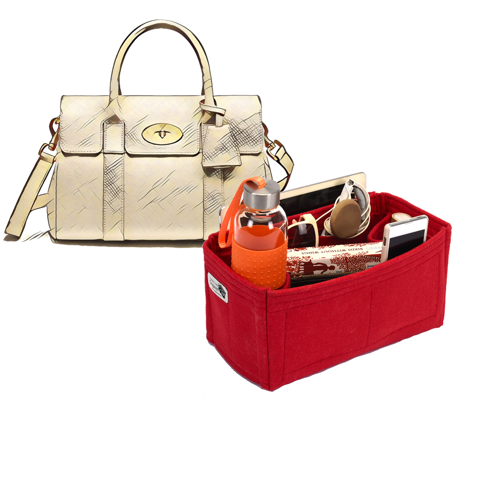 Bag and Purse Organizer with Regular Style for Mulberry Small Bayswater Satchel