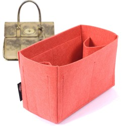 Felt Bag and Purse Organizer in Vermillion Red Color for Mulberry