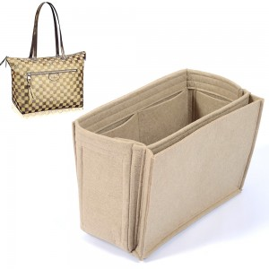 Bag and Purse Organizer with Side Compartment for Iena MM
