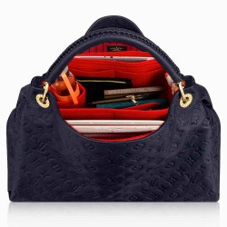 Bag and Purse Organizer with Side Compartment for Artsy MM and  GM