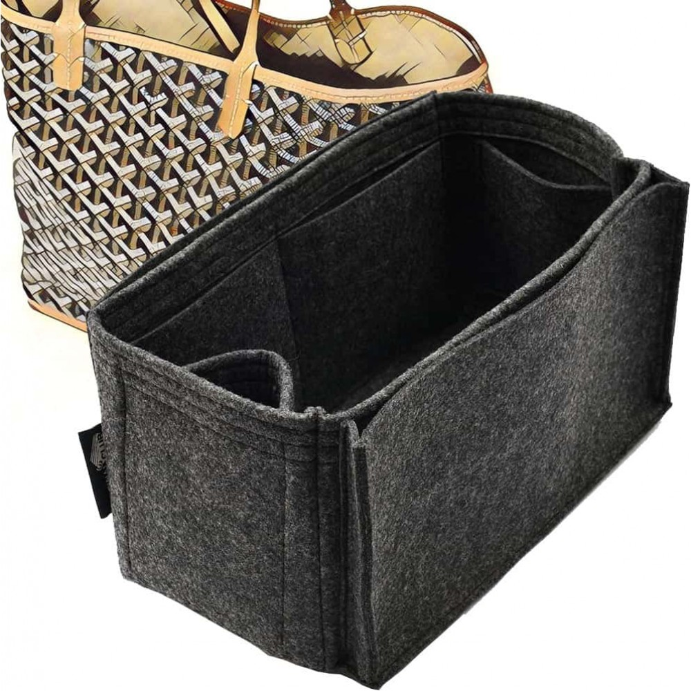 Bag and Purse Organizer with Side Compartment for Anjou PM and GM
