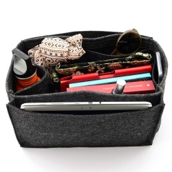 Bag and Purse Organizer with Side Compartment for Birkin Models
