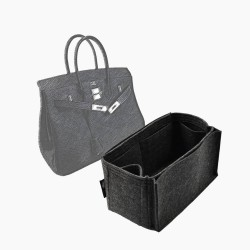 Bag and Purse Organizer with Side Compartment for Birkin 35 and Birkin 40