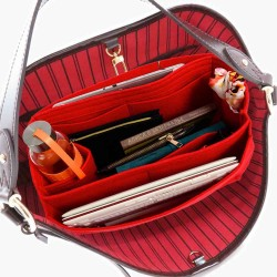 Bag and Purse Organizer with Side Compartment for Delightful MM (Old) and GM