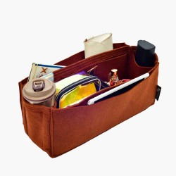 Bag and Purse Organizer with Side Compartment for St. Louis PM and GM