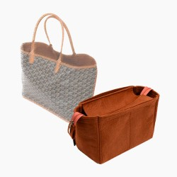 Bag and Purse Organizer with Zipper Top Style for Goyard St Louis and Anjou (More colors available)