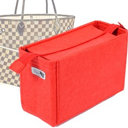 Bag and Purse Organizer with Zipper Top Style for Neverfull Models