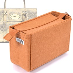 Bag and Purse Organizer with Zipper Top Style for Mulberry Bayswater Models