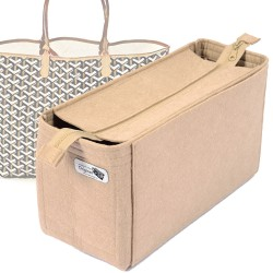 Bag and Purse Organizer with Zipper Top Style for St. Louis GM and Anjou GM