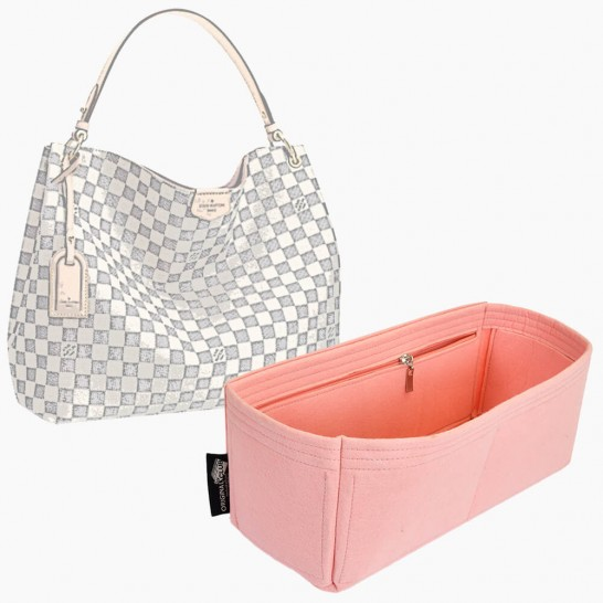 Handbag Organizer with Interior Zipped Pocket for Graceful PM/MM (More Colors Available )