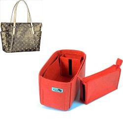 Bag and Purse Organizer with Zipped Compartment Style for Totally MM and Totally GM