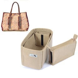 Bag and Purse Organizer with Zipped Compartment Style for Garden Party 30 and Garden Party 36