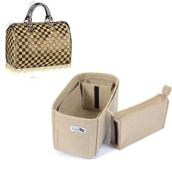 Bag and Purse Organizer with Zipped Compartment Style for Speedy Models