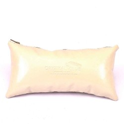 "Leather Pillow Bag Shaper In X-Small Size (9.05"" X 4.52"")"