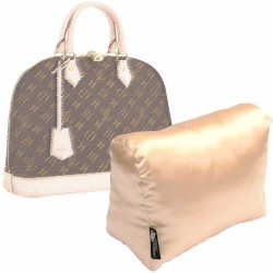 Satin Pillow Luxury Bag Shaper For Louis Vuitton Alma BB/PM/MM- More colors available