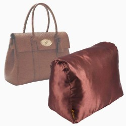 Satin Pillow Luxury Bag Shaper For Mulberry Bayswater (Chocolate Brown) - More colors available