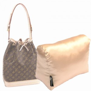 Satin Pillow Luxury Bag Shaper For Louis Vuitton Noe, Petit Noe and Noe BB - More colors available