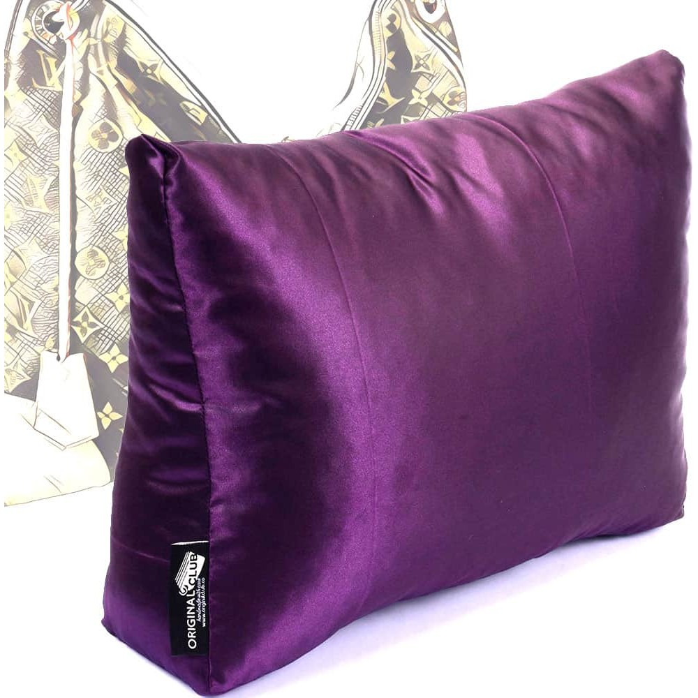 Satin Pillow Luxury Bag Shaper For Louis Vuitton Berri PM/MM (Plum) - More colors available