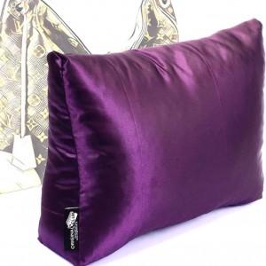 Satin Pillow Luxury Bag Shaper For Louis Vuitton Berri PM/MM (Plum) - More colors available