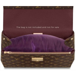 Satin Pillow Luxury Bag Shaper For Louis Vuitton Cluny MM (Plum) - More colors available
