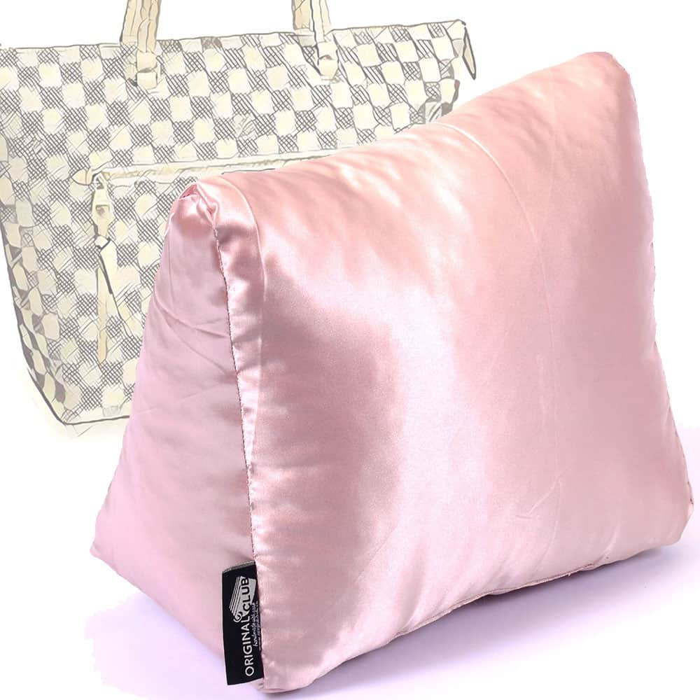 Satin Pillow Luxury Bag Shaper For Louis Vuitton Iena MM (Blush Pink) - More colors available