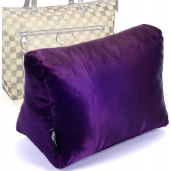 Satin Pillow Luxury Bag Shaper For Louis Vuitton Iena MM (Plum) - More colors availabe