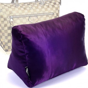 Satin Pillow Luxury Bag Shaper For Louis Vuitton Iena MM (Plum) - More colors available