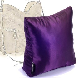 Satin Pillow Luxury Bag Shaper For Louis Vuitton Melie (Plum) - More colors availabe