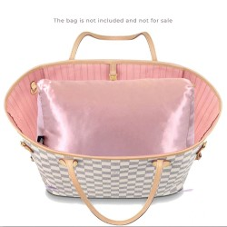 Satin Pillow Luxury Bag Shaper For Louis Vuitton Neverfull PM/MM/GM (Blush Pink)- More colors available