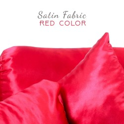 Satin Pillow Luxury Bag Shaper in Medium-Size For Designer Bags (Red) - More colors available