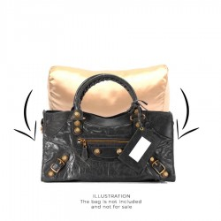 Satin Pillow Luxury Bag Shaper For Balenciaga Part Time (Champagne) - More colors available