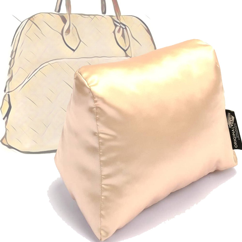 Satin Pillow Luxury Bag Shaper For Hermes' Bolide 27/ 31and 35 (Champagne) - More colors available