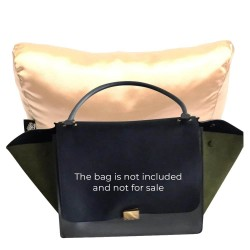 Satin Pillow Luxury Bag Shaper For Celine Trapeze Small and Medium (Champagne) - More colors available