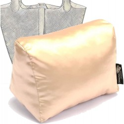 Satin Pillow Luxury Bag Shaper For Hermes' Picotin 18 / 22 / 26 (Champagne) - More colors available