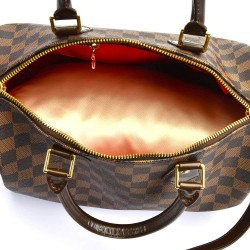 Satin Pillow Luxury Bag Shaper For Louis Vuitton Speedy 25/30/35 (Champagne) - More colors available