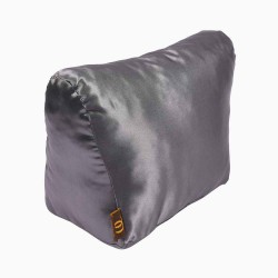 Satin Pillow Luxury Bag Shaper For Celine Trapeze Small and Medium (Silver Gray) (More colors available)