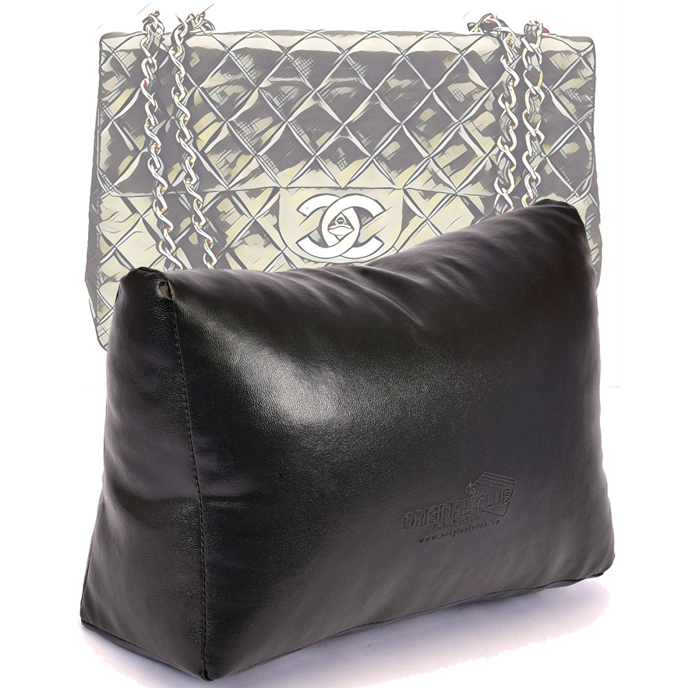 Leather Pillow Bag Shaper For Chanel Maxi and Chanel Jumbo Classic Flap Bags