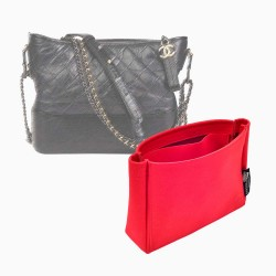 Ch. Gabrielle Hobo Suedette Basic Style Leather Handbag Organizer (More Colors Available)