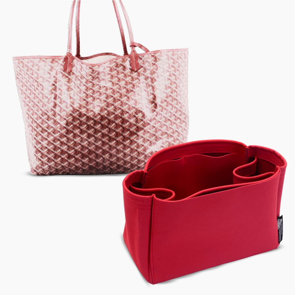 St. Louis PM and Anjou PM Suedette Regular Style Leather Handbag Organizer (Fuchsia) (More Colors Available)
