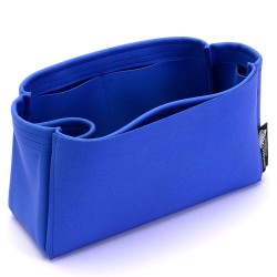 Lindy 26 / 30 / 34 Suedette Singular Style Leather Handbag Organizer (Royal Blue) (More Colors Available)